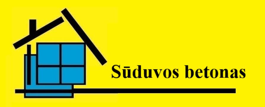 SŪDUVOS BETONAS